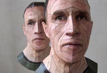 self portrait sculptures