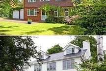 House frontage makeover