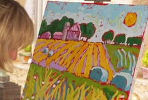 Art: Painting / Ideas, lesson plans and tips for painting in the art classroom.