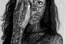 Bodypaint Maori