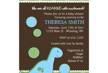 Dinosaur Baby Shower