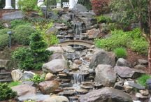 """Ideas & Inspiration – Water Features / A collection of """"Pins"""" for Water Features, Fountains, Ponds, Waterfalls, and more… photos for ideas and inspirations!"""