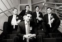 Men in wedding
