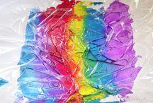 Colour Water Art Activities