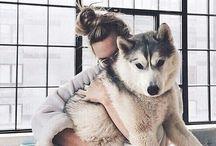 fotos amo y perrito