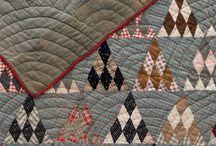 pyramids quilt