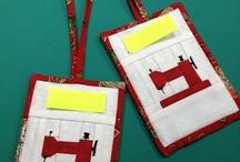 Symaskine paper piecing