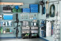 garage ideas / by Amy Lawing