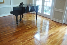 Warm, Wonderful Wood / We refinish wood floors without sanding - often in one day! For much less mess and expense than traditional refinishing, see us at cleantileandmore.com/wood.html for more information.