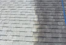 Roof Cleaning / Roof cleaning done with pressure wash alternative