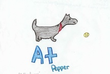 Jill's New Puppy / Jill is getting a new puppy! Check out these great illustrations our readers submitted.