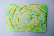 mes toiles Isabelle vautherin artiste peintre / peintures, dessins, abstrait, contemporain @prigent.vautherin