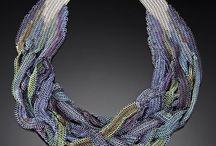 Biżuteria - plecionki / hand made jewellery - beading