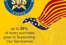 Supporting Our Servicemen