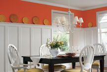 Bold at Home / Make a statement in your home with these bold colors!