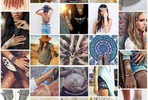 Flash Tattoos / Tatuajes temporales para disfrazarte en la despedida de soltera.
