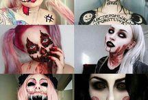 •~Halloween Make Up~•