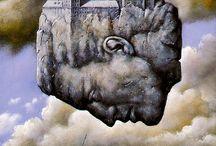 ★ RaFaL. / (Surrealismo poético, predomina la Mujer en sus obras) Pintor, Diseñador e Ilustrador de origen Polaco, Varsovia (Kielce) 1945. Emigró a EE.UU 1982.
