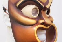 Masques d'après l'antique
