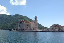 Our Lady of the Rocks and St George / Two picturesque islets located in breathtaking Boka Bay, Montenegro