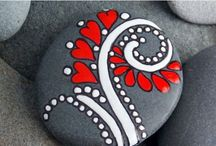 роспись камешков