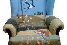 Fotel, szék új ruhában