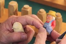 Carving little people