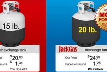 Propane Tank Comparisons / With Jackgas you simply get more propane refilled in your tank and pay less money per puond of propane. Not only the convinience of propane being delivered to your home, which is also safer, you also end up paying less for the gas. Thank you Jackgas - You just made my day.