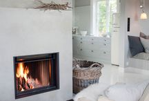 Interieur styles, Fire place