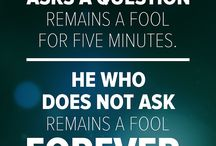 Quotes I Live By - Do Not Remain a Fool