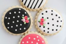 Black & White Baby Shower Party / Classy with pops of pink