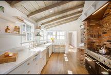 wood ceiling kitchen