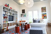 Playroom / Boys playroom with tv and lots of storage ideas
