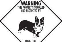 Corgi Signs and Pictures / Warning and Caution Corgi Dog Signs. https://www.signswithanattitude.com/corgi-signs.html