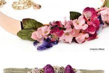 cinturones flor