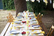 Tables and Decor Ideas / le tavole che amo, le decorazioni che mi piacciono