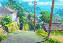 Studio Ghibli BG/ references/ inspiration