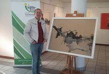 """JOURNEY INTO ABSTRACTION"" / SOLO EXHIBITION OF ABSTRACT ART  BY HILTON EDWARDS 15 - 28 JUNE 2015 CENTURION ART GALLERY  TSHWANE"