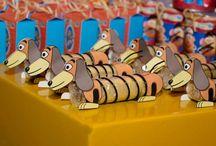 Niver Luquinhas Toy Story Ideias