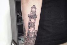 Minhas tattoos / Trabalhos feitos Por mim.