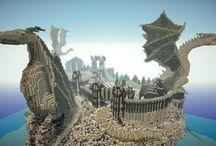 minecraft sziklák