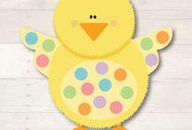 Бесплатные весенние распечатки для детей. Spring and Easter Printables Free