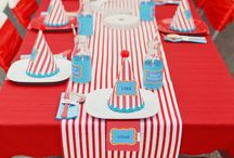 Carnival/Circus theme party ideas