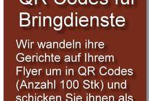 QR Codes für Bringdienste