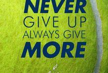 Tennis Motivational / Tennis is more than a sport. It's a way of life.  #tennismotivational #motivational #sport