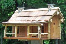 Cabanes d'oiseaux