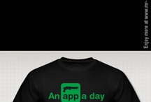 An App a day series by Mr-Appy.com / App a day... t-shirt and apparel series