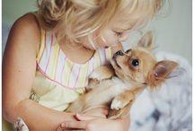 Kinder u. Hunde