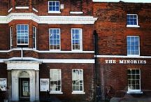 Pictures From Our Instagram / Did you know The Minories are on Instagram too? Follow us on http://instagram.com/The_Minories for cool photos about our Galleries, Shop and Garden Cafe. PS: we have pictures of cake!