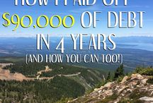 Gain Financial Freedom & Get out of debt / Get out of debt, money saving tips, how to be financially free